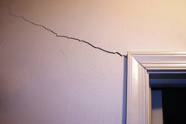 Image result for cracks in the sheetrock