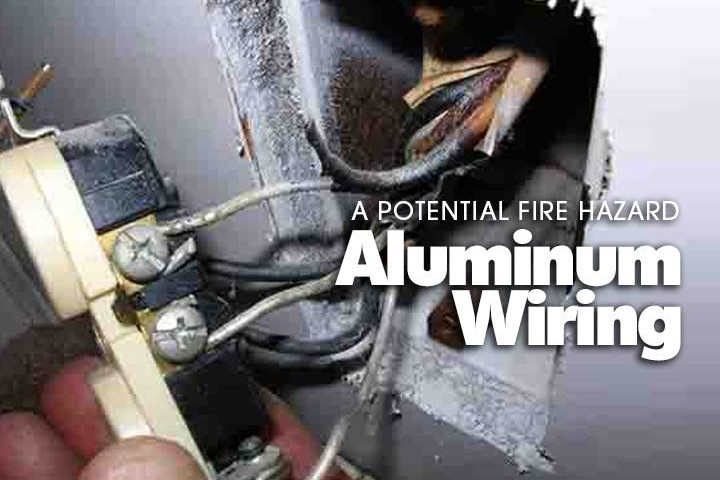 aluminum wiring fire hazards home inspection alabama rh jadeengineering biz Aluminum Wiring Dangers Single Strand Aluminum Wiring