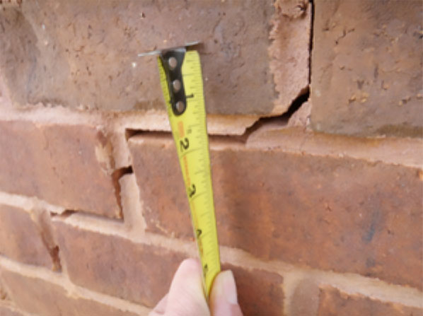 Foundation-Settlement-Measuring-Tape-Burmingham-Cullman-Huntzville