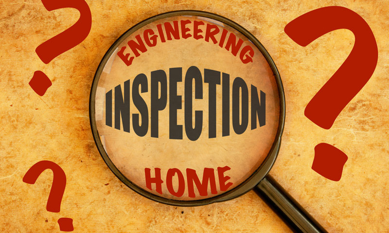 Home Inspection and an Engineering Inspection