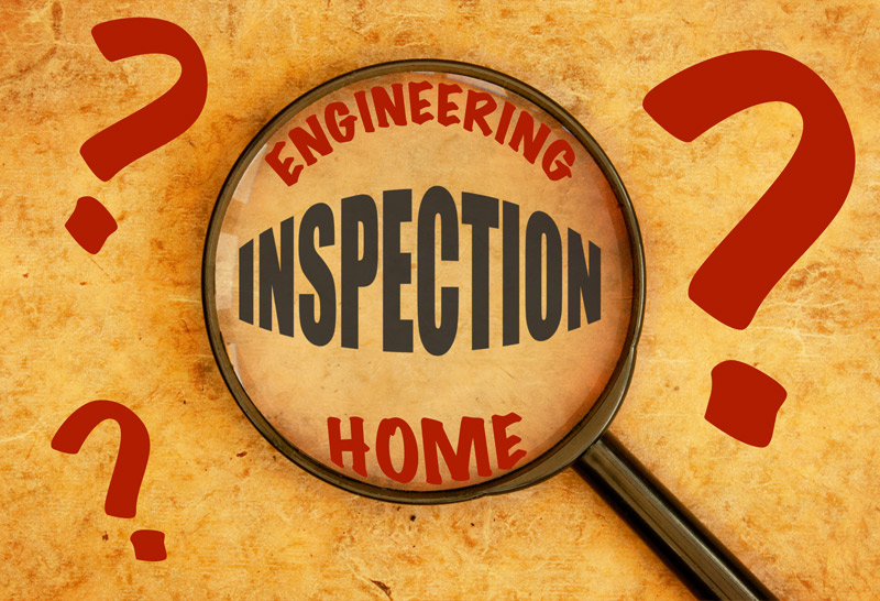 home inspection engineering inspection