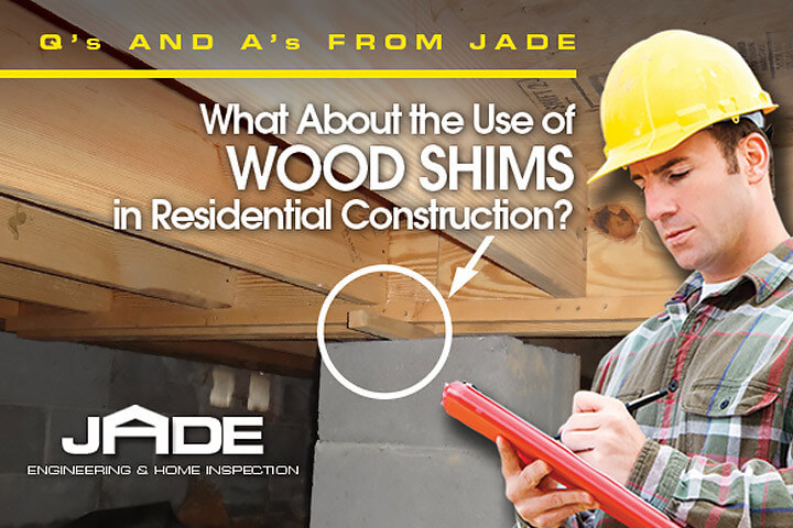 wood shims in residential construction