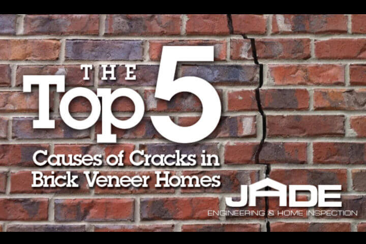 cracks in brick veneer homes