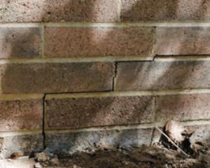 Cracks in Brick Veneer