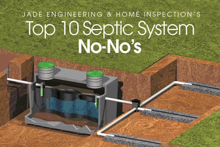Top 10 Septic System No-No's | Huntsville, Alabama
