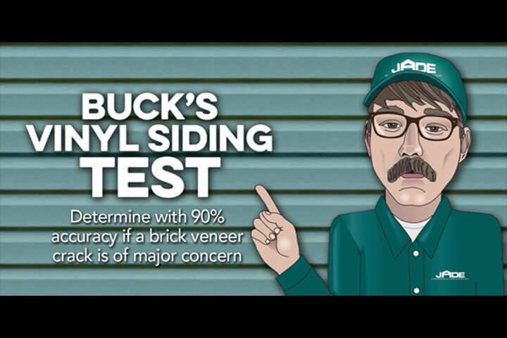 buck vinyl siding test
