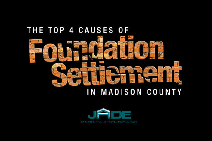 top 4 causes of foundation settlement